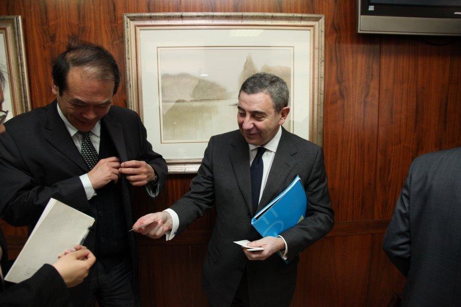 Imaxes José Luis Meilán Gil. Catedrático en Dereito Administrativo. Primeira parte.